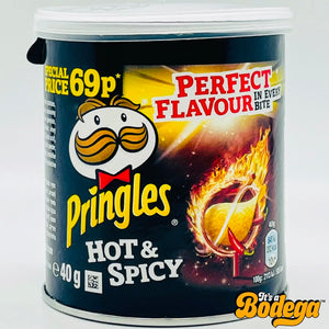 Pringles Hot & Spicy (UK)