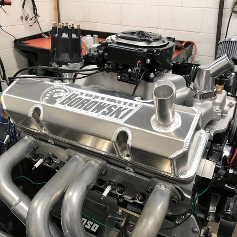 Borowski Race Engines Samll Block Chevy Engine with Dart 23 Degree Heads