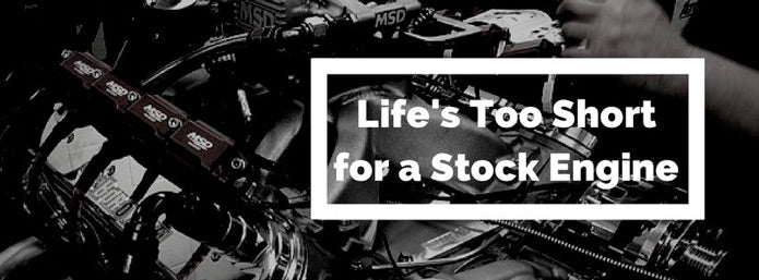 Life's Too Short for a Stock Engine