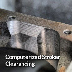 Computerized Stroker Clearancing