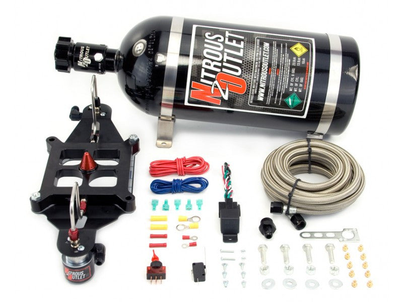 Nitrous Outlet 4150 Stinger Plate System With EFI Center