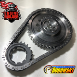 Double Roller Billet Timing Chain - Heavy Duty, LS, Adjustable