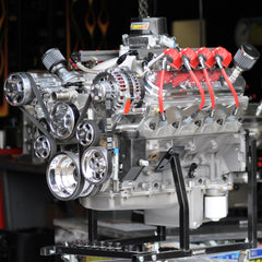 416 ci Nitrous LS3 600 hp-motor, 750-spray. Complete with Serpentine & Holley HP
