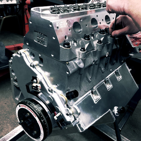 All Pro Cylinder Heads - Hydraulic Cam, Titanium Intake, Stainless Exhaust