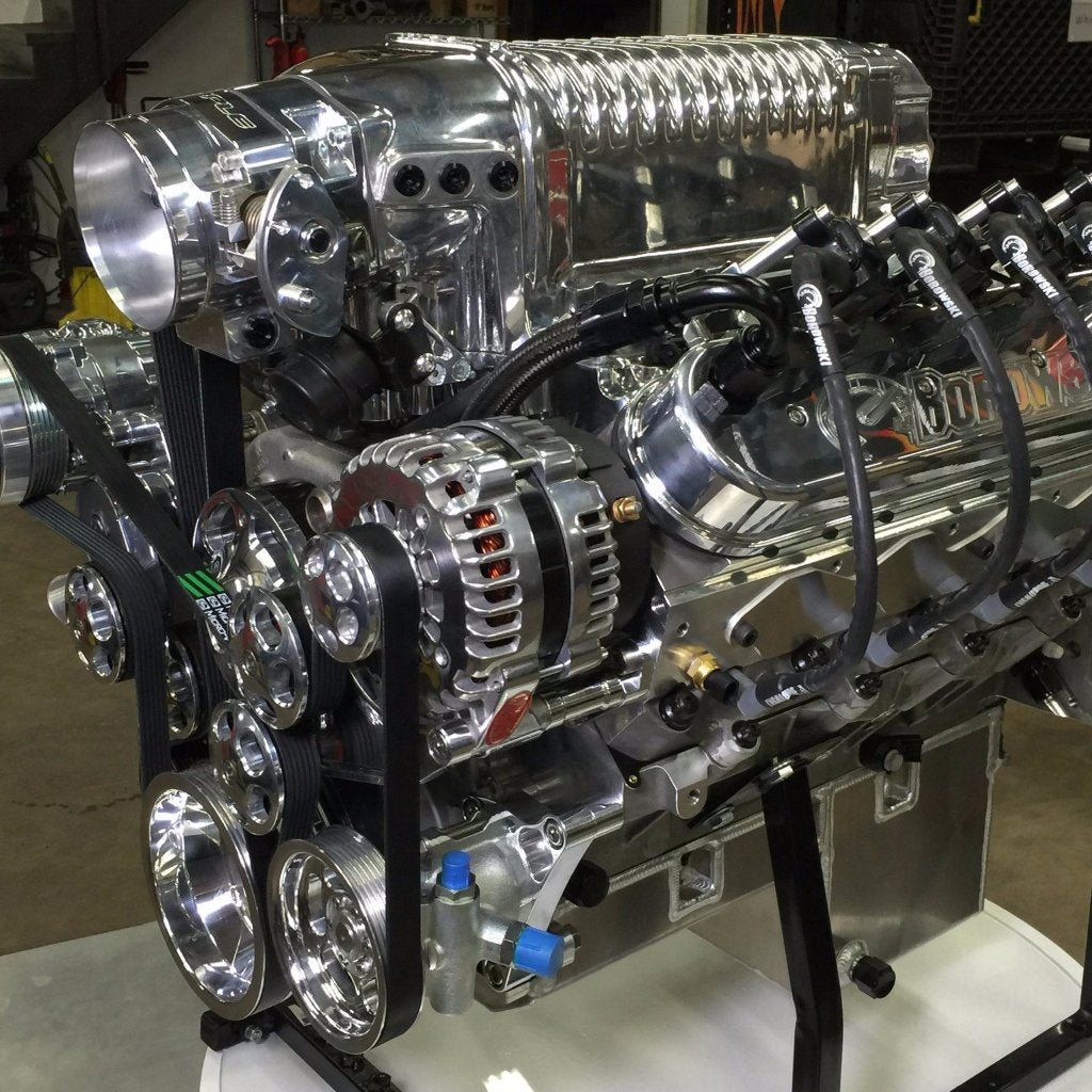 900 HP, 2 9L Whipple Supercharged, LS Engine  Holley HP