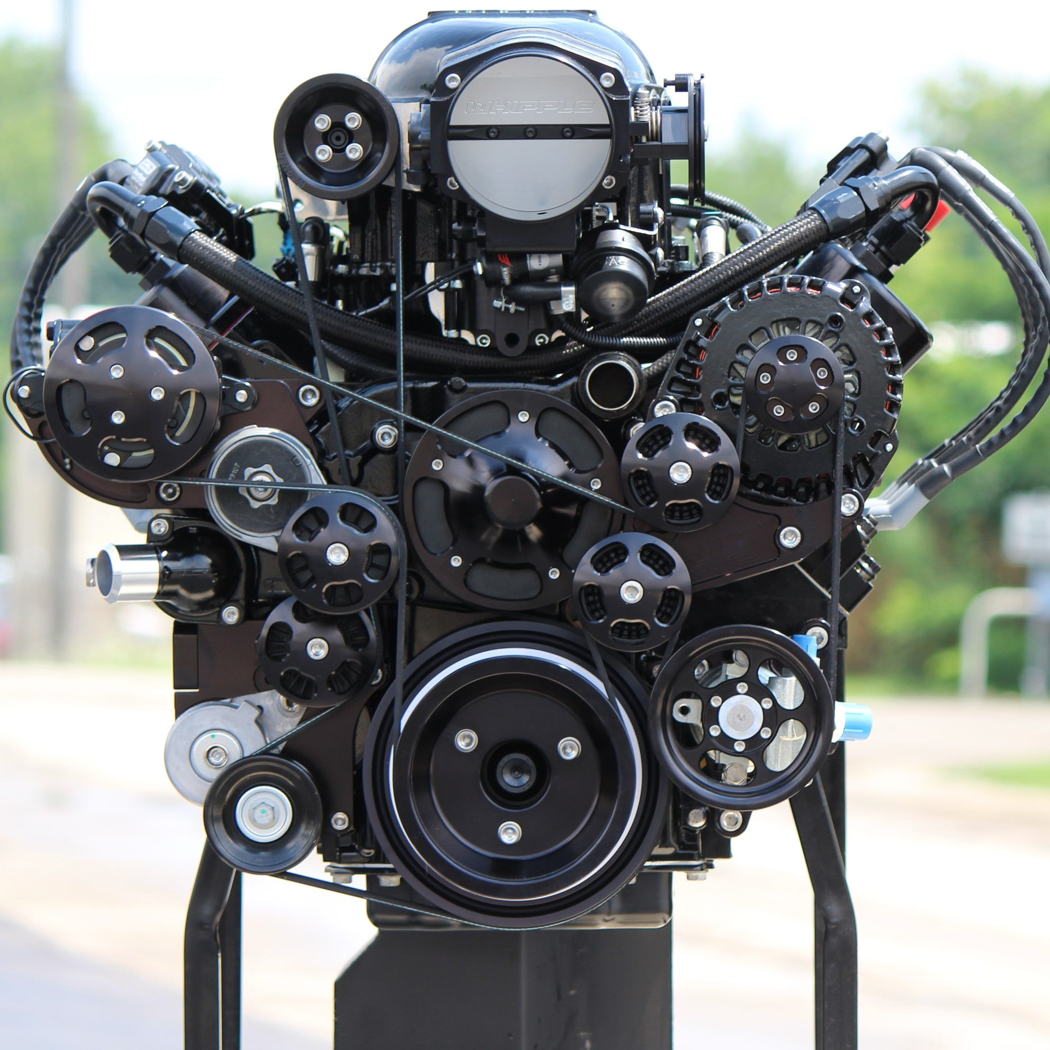 1,075 HP, 2 9L Whipple Supercharged LS Engine  Includes