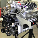 2,500 HP, Twin 83mm Bullseye NLX Turbochargers, 427ci LS7 Engine, CUSTOM crank, rods, pistons, heads. CUSTOM Comp Mechanical Roller Cam. Holley Dominator.