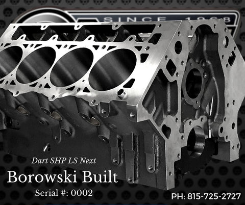 Dart SHP LS Next Cast Iron Engine Block