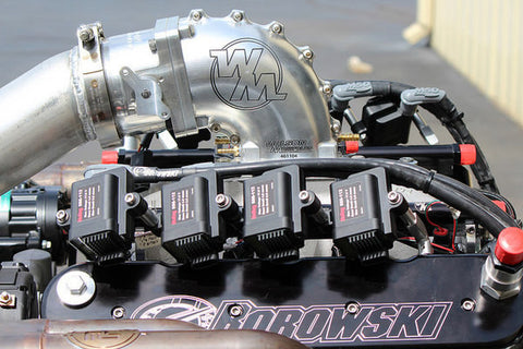 1,540 hp LS7 Hydraulic Cam Twin Turbo - Complete Serpentine, Holley HP & Turbos