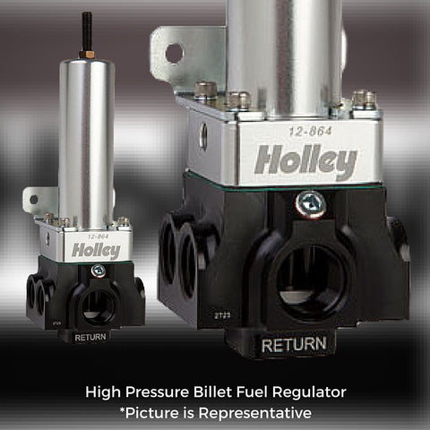 Holley VR Series Billet Fuel Pressure Regulators