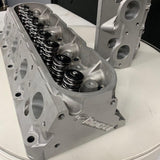 CUSTOM CNC Ported GM LS3 Cylinder Heads - NEW Stainless Intake & Exhaust Valve/New K Motion Springs