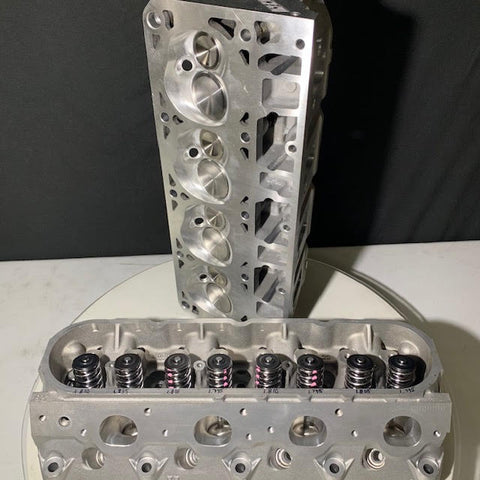CUSTOM CNC Ported GM Cylinder Heads - Manley Extreme Duty Inconel Valves/New K Motion Springs