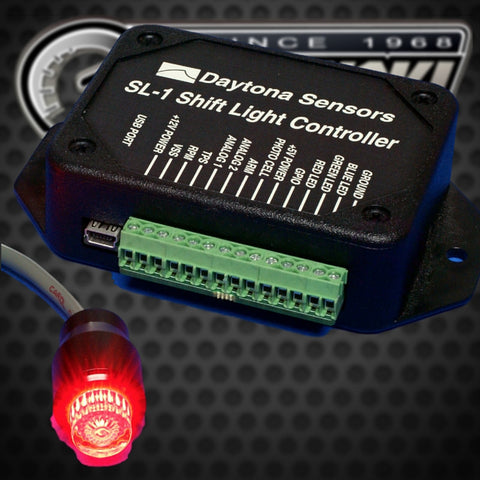 Daytona Sensors SL-1 Programmable Shift Light and Vehicle Data Logger