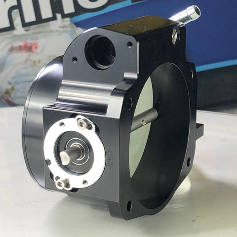 Holley LS Throttle Body - *BLEMISHED* - MPI, 1 Venturi, 105mm, Billet Aluminum, Black Anodized, Chevy, Small Block LS, Each