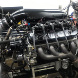 1,500 HP, Single 83mm Bullseye NLX Turbocharger, 427ci LS Engine, E85, Comp Hydraulic Roller Cam. Complete as Shown