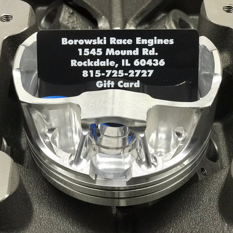 Borowski Race Engines Gift Card