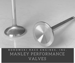 Manley Performance Extreme Duty Exhaust Valves