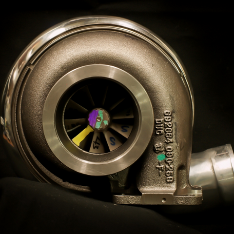 TCT BatMoWheel Series Turbocharger - 80mm