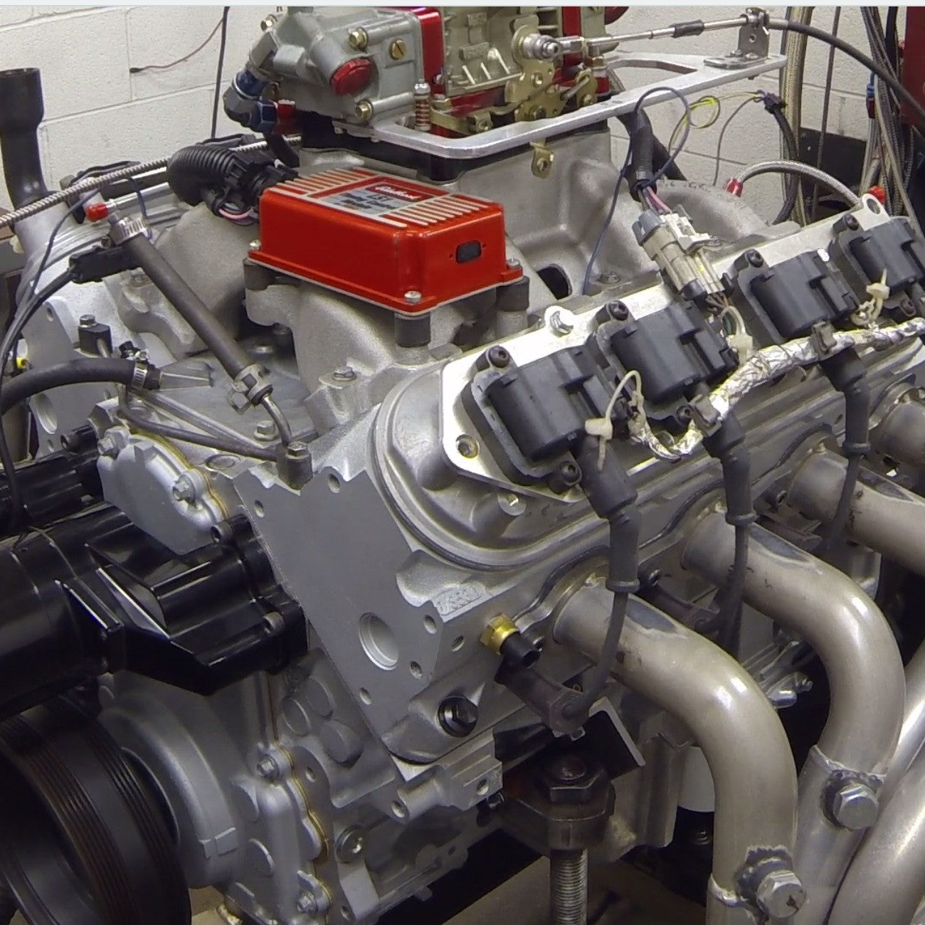Ls1 With Heads And Cam Hp: LS1 Long Block, Dyno'd At 480 Hp With Carb