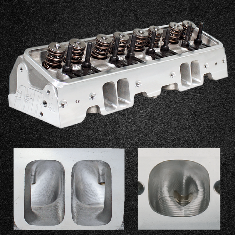 Airflow Research 1031 195cc Lt1 Lt4 Eliminator: AFR 180cc & 195cc LT1 Stock Eliminator Cylinder Heads