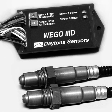 Daytona Sensors WEGO 3 D Kit includes WEGO3DA, 2 O2 Sensors and 2 Bungs