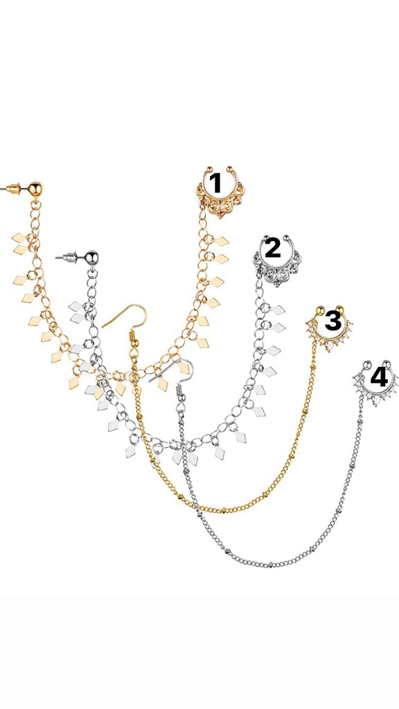 Nose chain ( set 1)