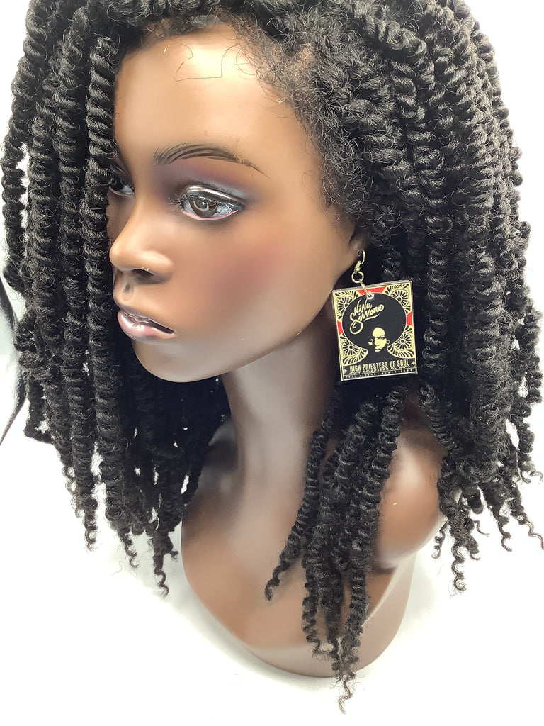 Image Earrings (Nina Simone)
