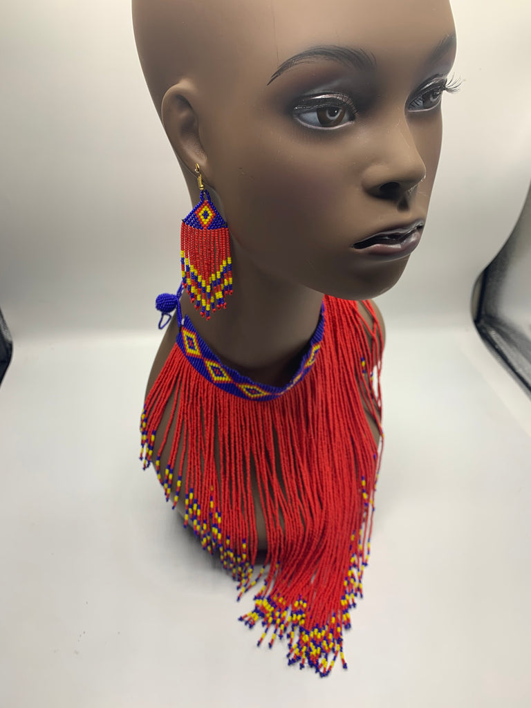 Tribal bead Indian set