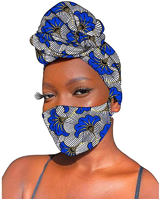 Head wrap and Mask set