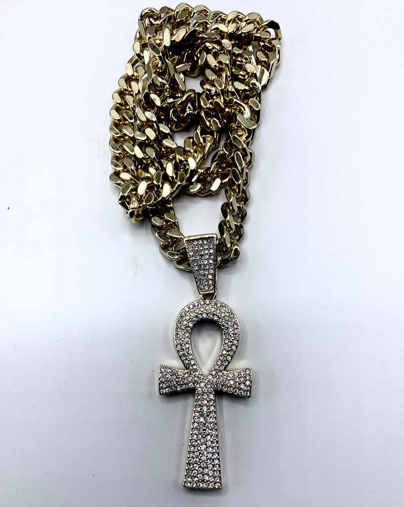 Ankh Studded Links