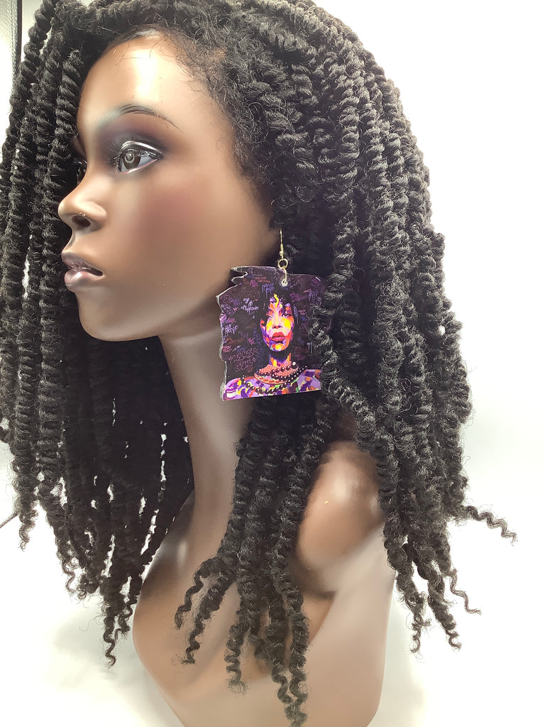 Image Earrings (Badu Art)