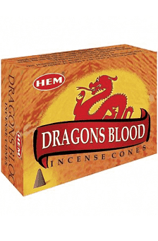 dragons's blood incense cone