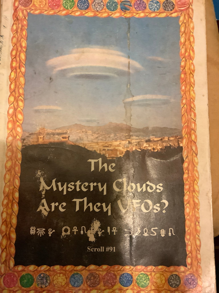 The Mystery Clouds Are They UFO'S