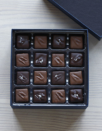 16 Piece Chocolate-Covered Caramels