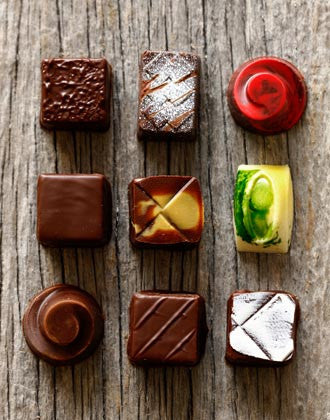 9 Piece Chocolate Assortment
