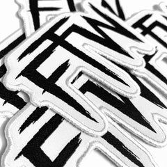 FTW Logo Patch - White