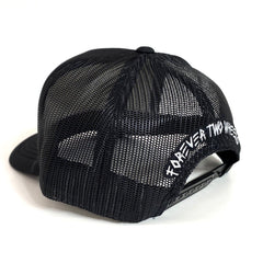 FTW Black Moto Trucker Hat