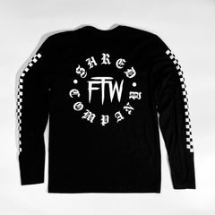 FTW Checkers Long Sleeve Tee