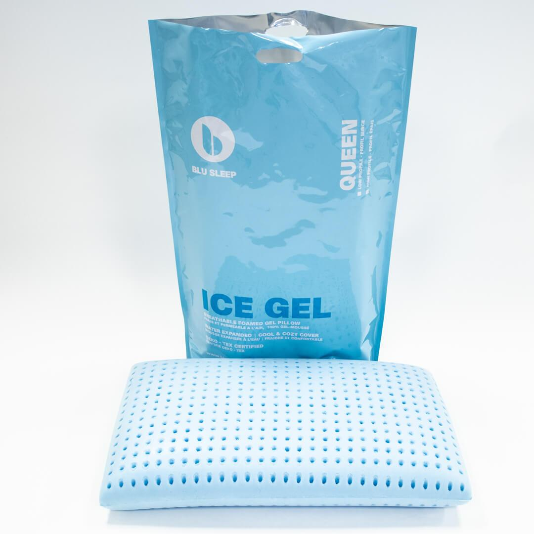 Blu Sleep Ice Gel Pillow - Unscented at Real Deal Sleep