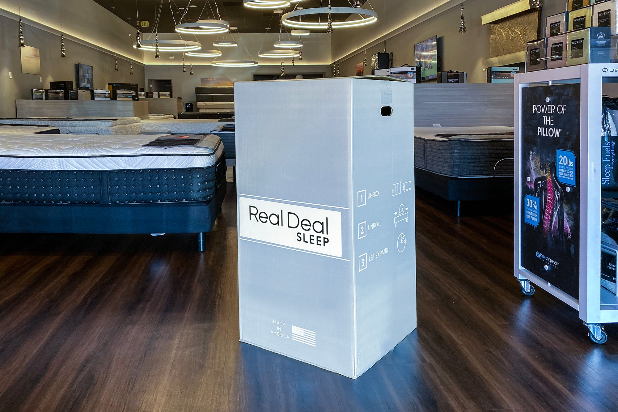 Real Deal Sleep Jocelyn Firm Hybrid at Real Deal Sleep