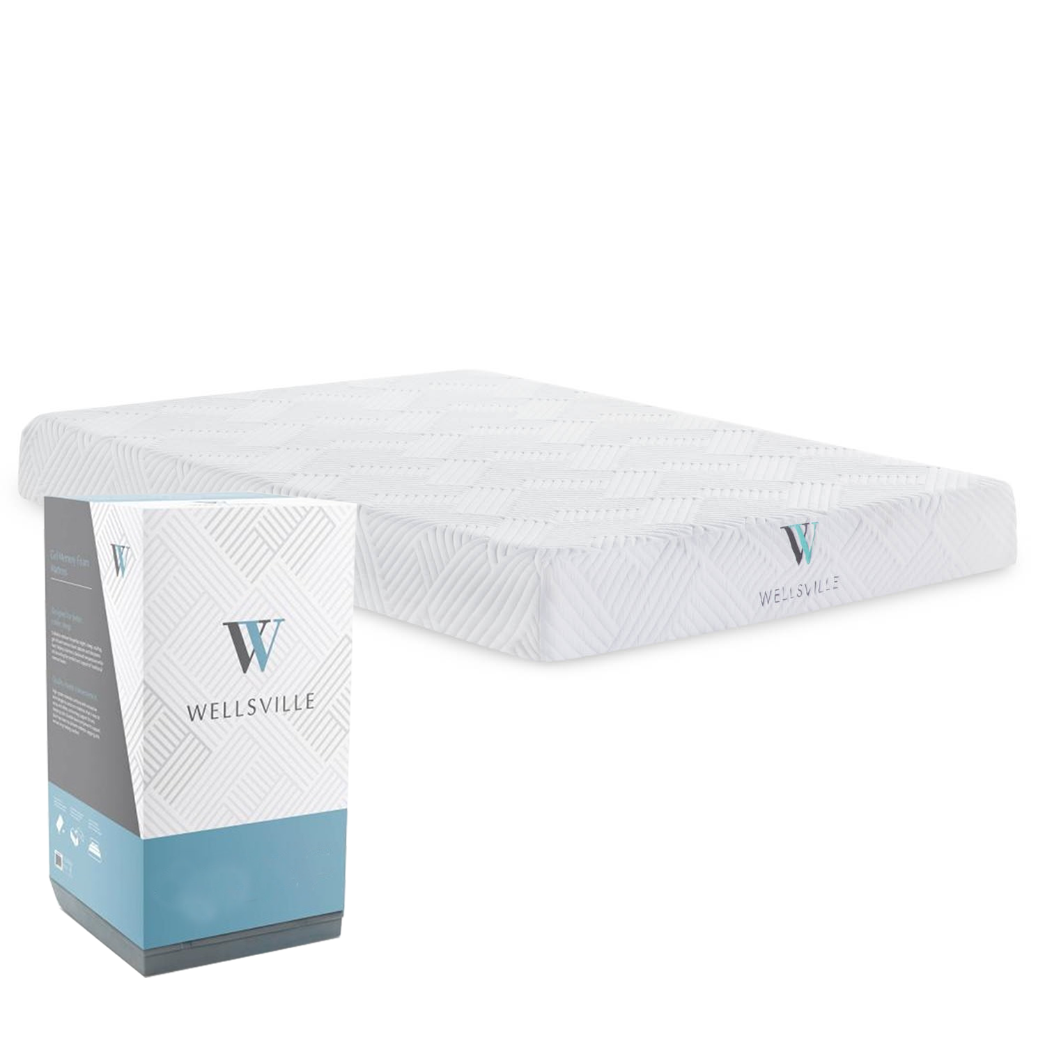 Wellsville 8 Inch Gel Memory Foam Mattress