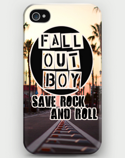 "Fall Out Boy ""Save Rock and Roll"" iPhone Case - CrewWear"