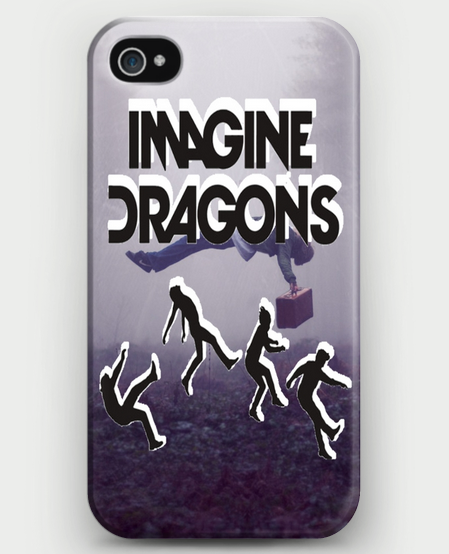 Imagine Dragons iPhone Case - CrewWear