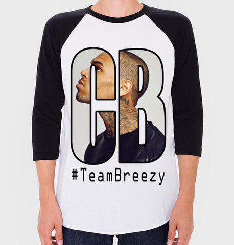 Chris Brown Baseball Tee (Unisex)