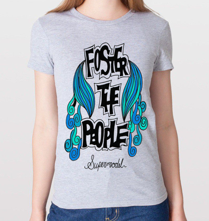 "Foster The People ""Supermodel"" T-Shirt (Women) - CrewWear"