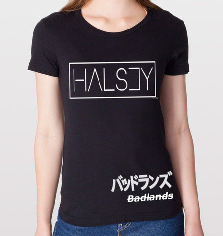HALSEY Badlands Black T-Shirt (Women)