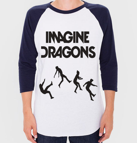 Imagine Dragons Baseball Tee (Unisex)