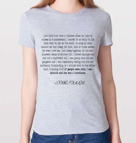 Looking for Alaska Quote T-Shirt (Women)