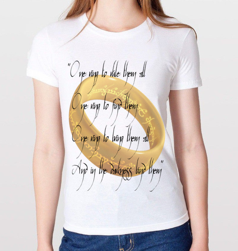Lord of the Rings T-Shirt (Women) - CrewWear
