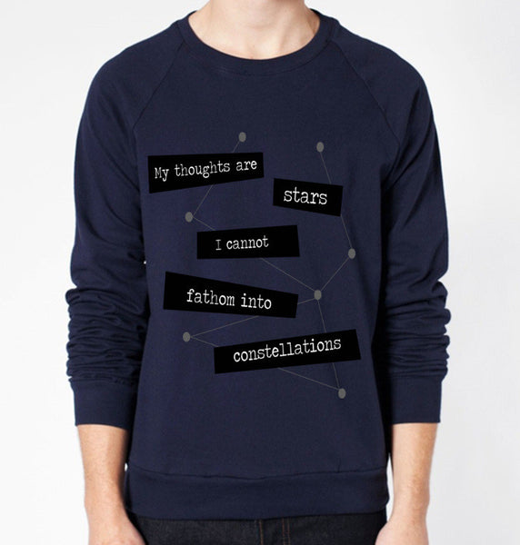 TFIOS Quote Crewneck Fleece Sweater (Unisex) - CrewWear